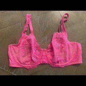 Victoria Secret 38D Lace Bra Punk
